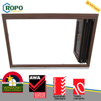 Latest UPVC Plastic Glass Folding Window Designs For Homes