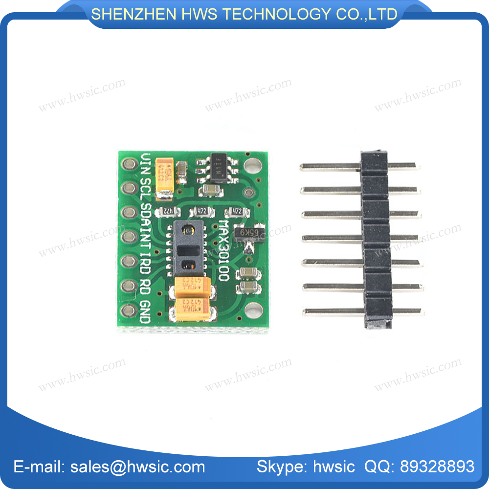 Pulse Oximeter Heart-Rate Sensor Development Board max30100