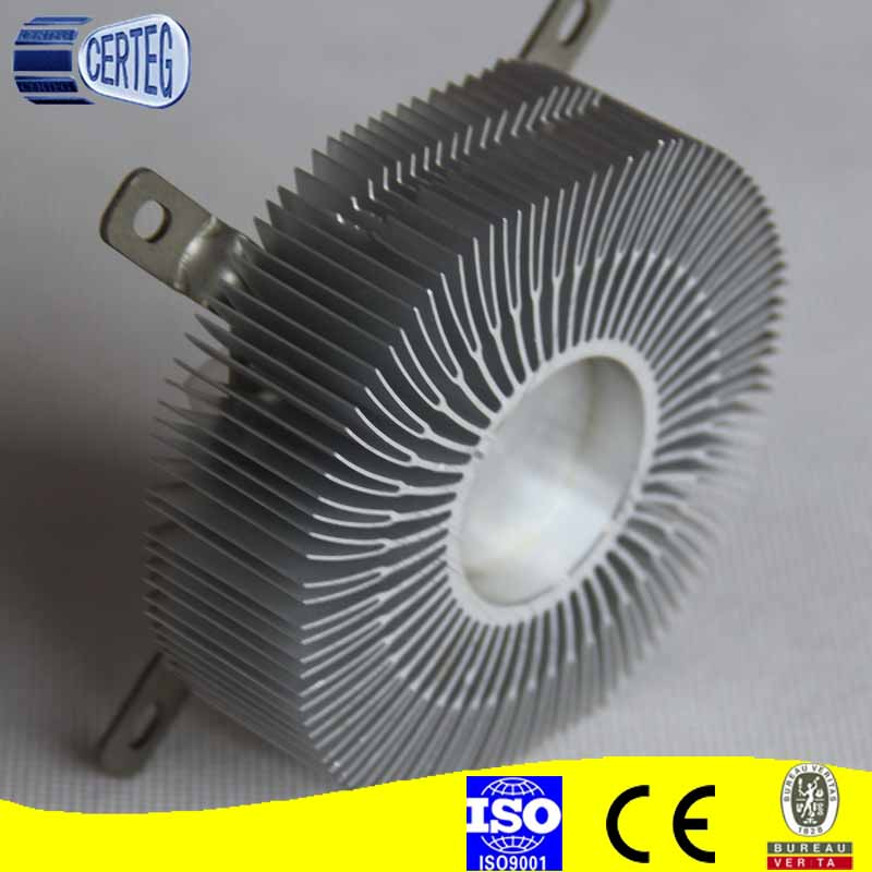 CPU cooler for Intel 1156 pin processors radiator fan