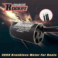 RC motor Boat water cooled Brushless motor for boat 3660 with 5.0 shaft 3300 KV