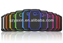Fashion 3 in 1 combo hybrid case for samsung galaxy centura s738c