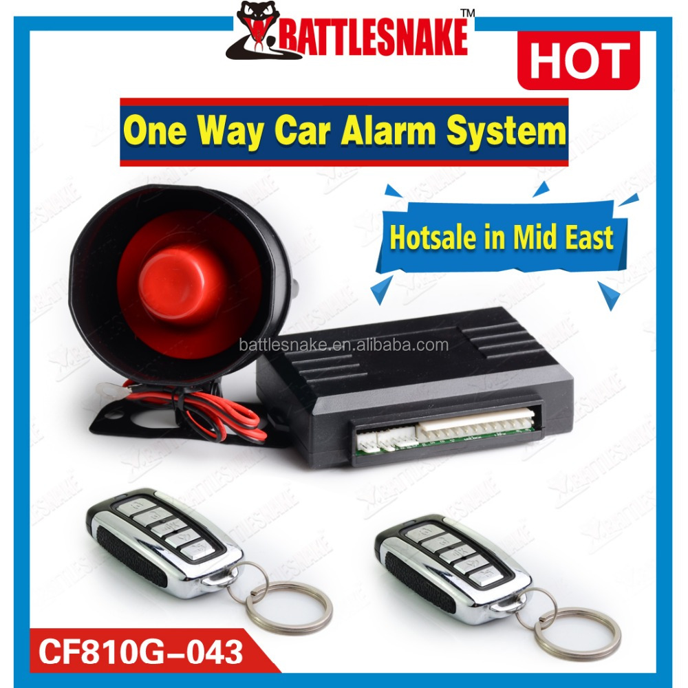 Most Popular Octopus Car Alarm System One Way Van Alarms with Emergence Call