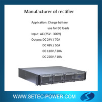 AC to DC 110v Rectifier for battery charge and DC load