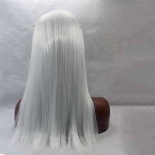 Virgin Brazilian hair european hair full lace wig human hair grey lace front wig