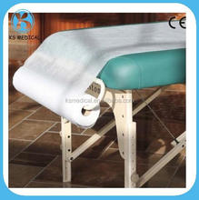 Nonwoven disposable medical bed sheets in roll for hospital