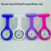 Promotional durable silicone nurse watch,Silicone nurse watch,Nurse pocket watch for hospital