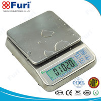 2016 new model Large LCD display Water-proof small digital weight scales
