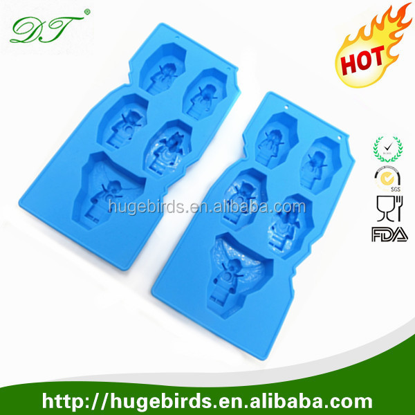 Personalized Food Grade Silicone ice cube tray/ice form/ice tray