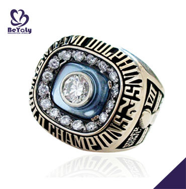 Wholesale customized brass Championship ring 1972 Miami Dolphins NFL World Champions ring