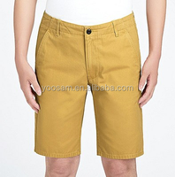 Top quality bermuda shorts for men 100% cotton shorts OEM custom made