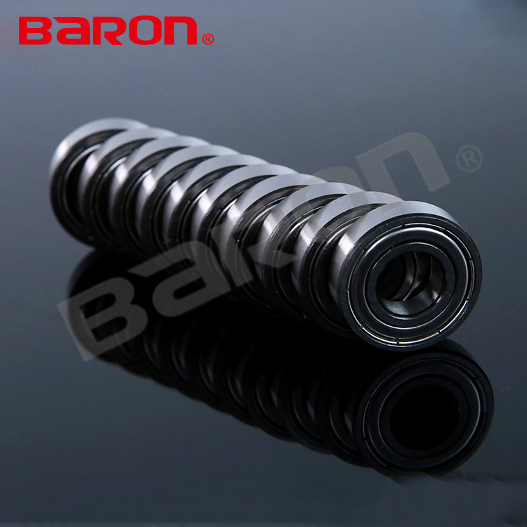 Precision engine parts double metal shielded small electric motor cycle ball bearings 6003ZZ 17x35x10 bearing