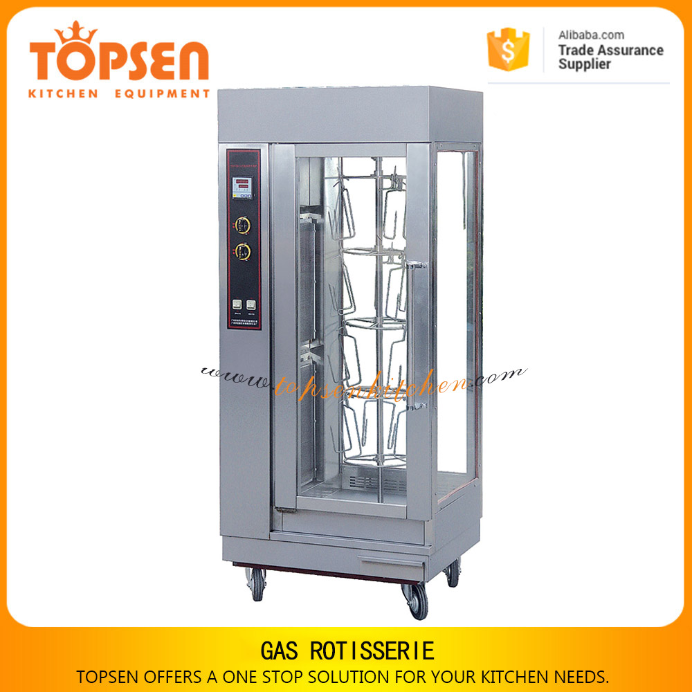 Heavy duty grill rotisserie oven, reasonable price grill chick electric oven with stainless steel