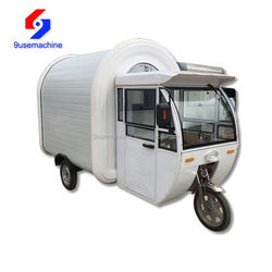Mobile restaurant car/ manual hand push food cart