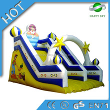 Top slae 2015 Hot Sale giant adult inflatable water slides for sale, inflatable slides for kids