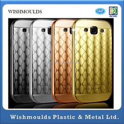 Colorful hot selling mobile phone with metal cover for S3 I9300 model