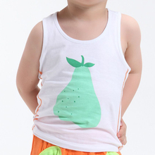 Wholesale 100% cotton soft and comfort baby vest white