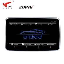 Zopai Smoothly Plays 1080P Videos 10.1 Inches Android 6.0 Back Seat DVD Headrest