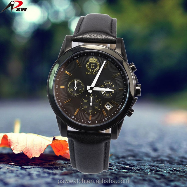 PSW-LW443 Fashion style new arrivals 6 hands stainless steel watch luxury men's watch