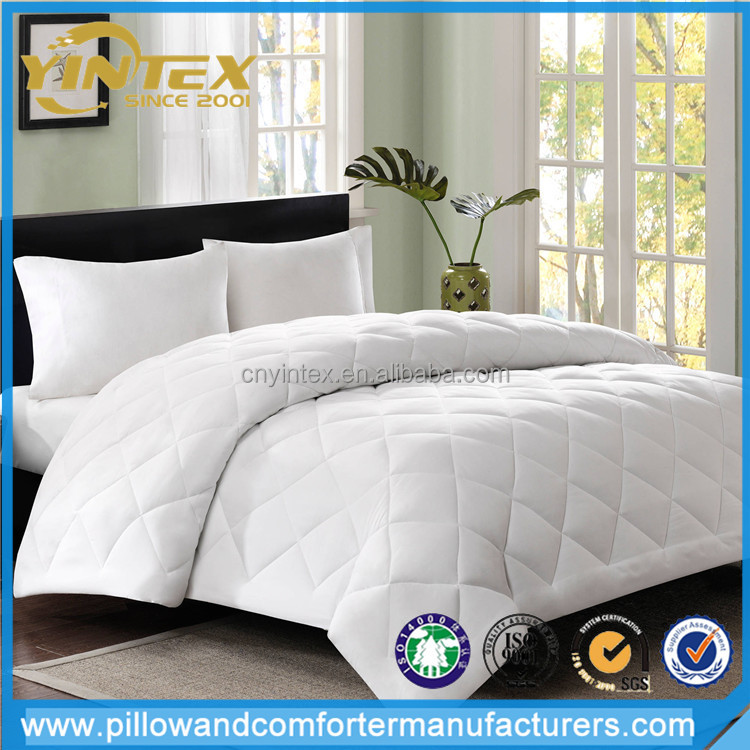 Pure color duvet cover sets 100% polyester fabric brushed diamond quilting microfiber duvet