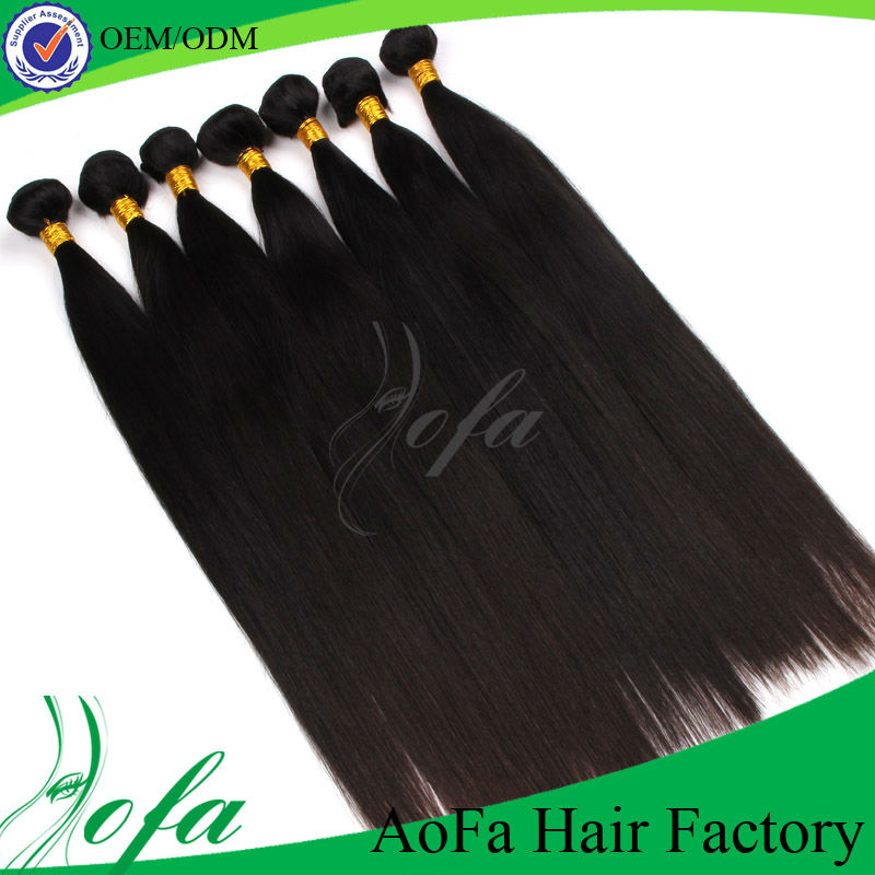 Virgin hot sales silky grade 5A straight hair women in african hair style
