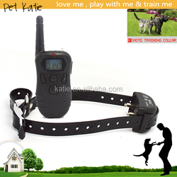 LCD Remote Control Waterproof Dog Shock Collar Training Rechargeable