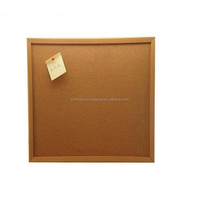 China Supplier wall mounted 1mm natural cork sheet notice cork board