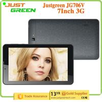 Gold Supplier tablet pc JG706V 1GB 8GB Dual SIM Card MT8321M Quad core made in China
