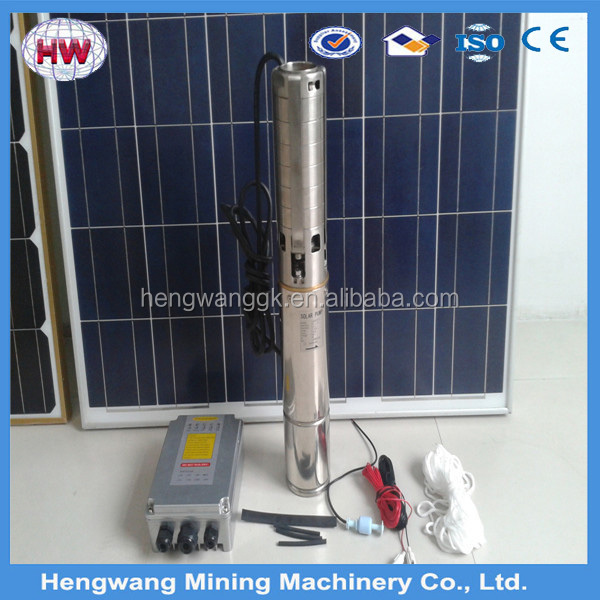 Solar Powered Submersible Deep Well Water Pumps Underground Water Pump