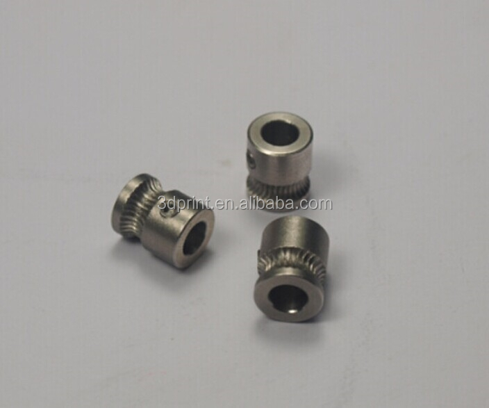 MK8 stainless extruder gear for 1.75mm with high quality