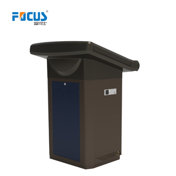 Good quality wooden teaching podium for e-classroom S700 with CE and CCC