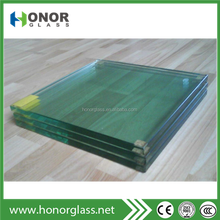 3mm 9mm 12mm clear tempered glass fixed window clear glass