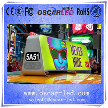 double sides taxi led display Oscarled with great price