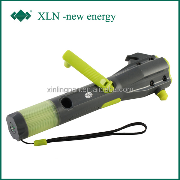 auto used flashlight hammer; LED Torch Flashlight Survival Hammer kit