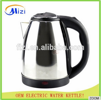1.5L/1.8L 2.0L Stainless Steel Cordless Electric Water Kettle water kettle stainless steel whistling kettle 2.0L good look Elec