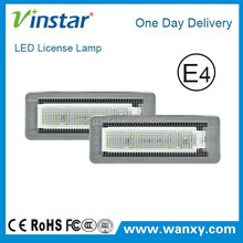 manufacturer new design 1day delivery new led license plate light for ben z smart fortwo