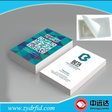Custom printing ISO 14443A ntag216 rfid nfc business card