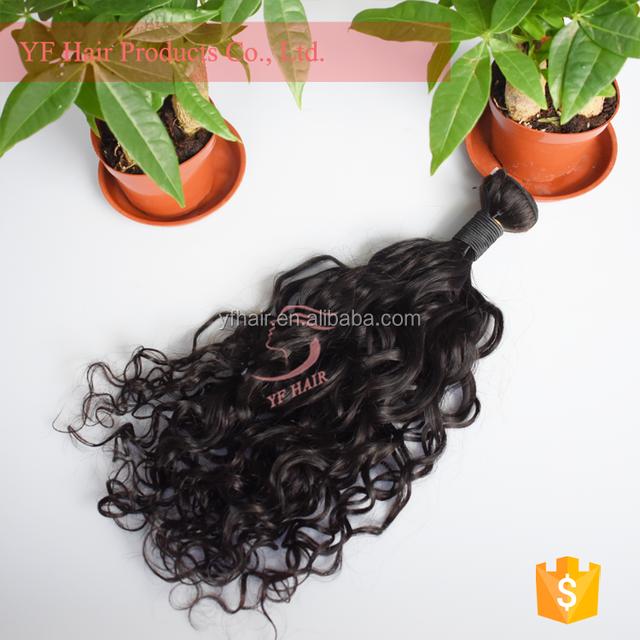 Soft and comfortable Brazilian water wave hair virgin hair extension peruvian wavy hair bundles
