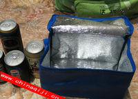 2013 hot sell customized Aluminum foil bottle cooler bag