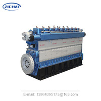 ce approved high efficient water cooled biomass gas generator 1MW CHP