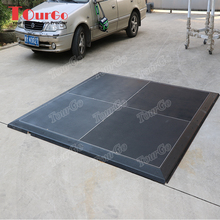 TourGo portable tent dance <strong>floor</strong> with black color for exhibition event