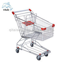 unfolding electric and cheap shopping storage cart trolley