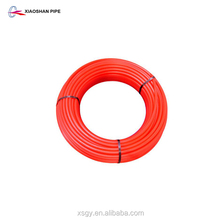 Chinese supplier underfloor heating hot water supply 20mm pert pipe