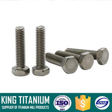 Grade 2 Titanium bolt range from M2 to M64 in DIN / ISO / ASME standards