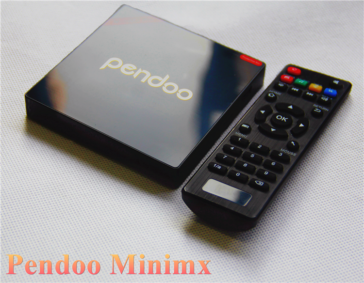 Pendoo Minimx Pro S912 2G 16G android tv box digital satellite receiver 4k for sale Android 6.0 TV Box