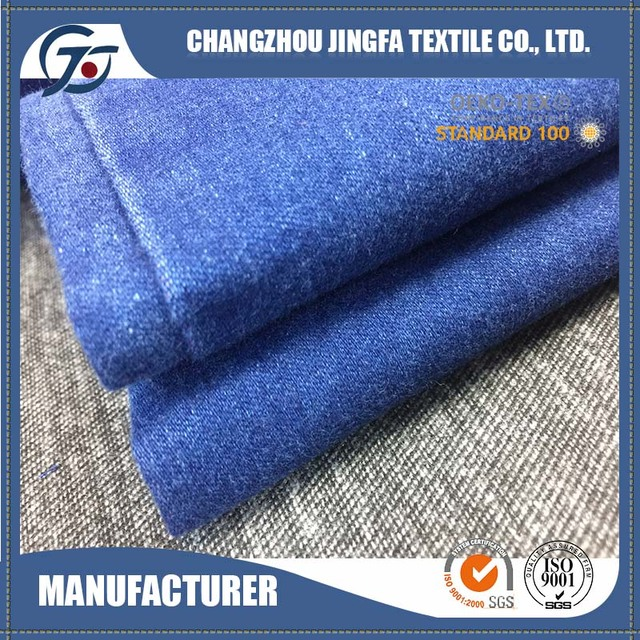 Quality Assurance china manufacture rib knitted denim fabric wholesale