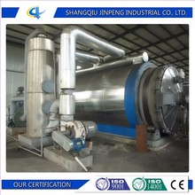 JINYUAN scrap tire pyrolysis plant/waste tire recycling machine/used plastic recycling plant