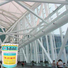 Ultra-thin type inflated fire rated paint, flame retardant agent paint for steel