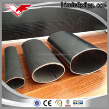 100% carbon thin wall oval tube used for furniture building materials