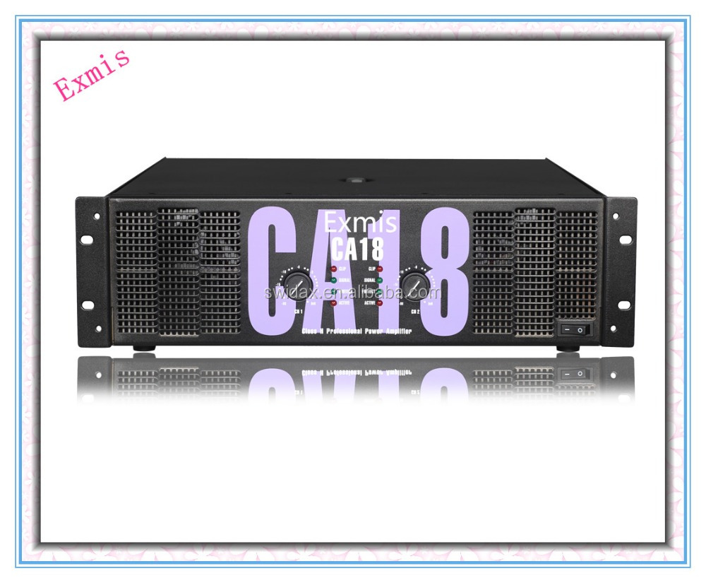 professional audio power amplifier CA18 SERIES 18