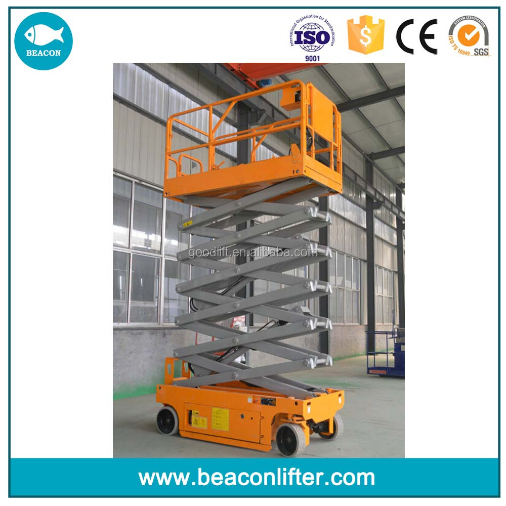 genie self propelled scissor boom lifts hire for sale